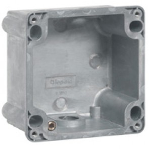Box Hypra - IP44 - for Prisinter surface mounting socket 2P+E/3P+E 16 A - metal