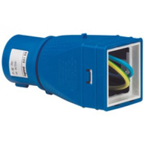 Adaptor - 2P+E - 16 A 250 V~ - to be equipped with Mosaic mechanism