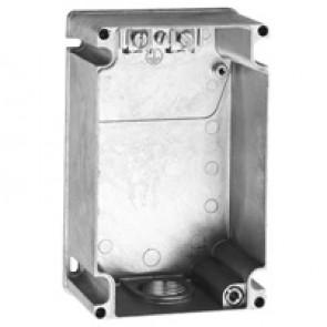 Box Hypra - IP44 - for surface appliance inlets 2P+E/3P+E/3P+N+E - 32 A - metal