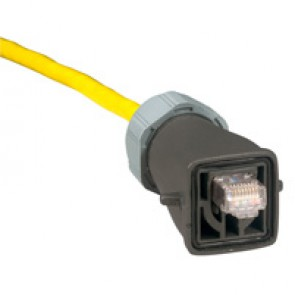 Plug for cable protection - plastic