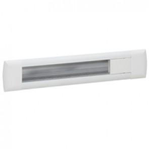 Empty flush-mounting office modules - aluminium body - 12 modules - white