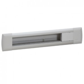 Empty flush-mounting office modules - aluminium body - 12 modules - aluminium