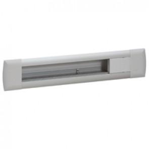 Empty flush-mounting office modules - aluminium body - 12 modules - aluminium