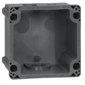 Box Hypra - IP44 - for Prisinter surface sockets 3P+E/3P+N+E - 63 A - plastic