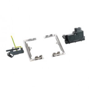 Installation kit for raised access floor or table top - 4 modules