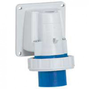 Appliance inlet P17 - IP66/67 - 200/250 V~ - 16 A - 2P+E