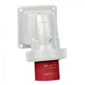 Appliance inlet P17 - IP66/67 - 380/415 V~ - 16 A - 3P+E