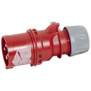 Phase inverter plug P17 - IP44 - 380/415 V~ - 32 A - 3P+E