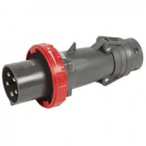 Straight plug Hypra - IP66/67-55 - 380/415 V~ - 63 A - 3P+N+E
