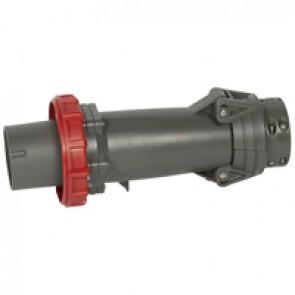 Straight plug Hypra - IP66/67-55 - 380/415 V~ - 125 A - 3P+E