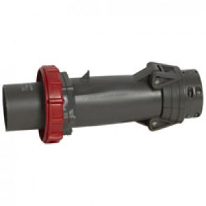 Straight plug Hypra - IP66/67-55 - 380/415 V~ - 125 A - 3P+N+E