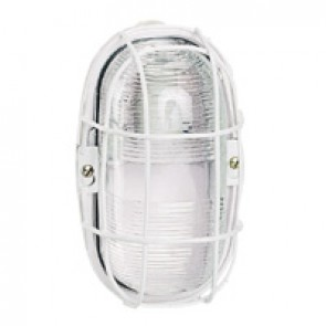 Bulkhead light - IP55 - IK04 - oval - 75 W- E27 - though environments