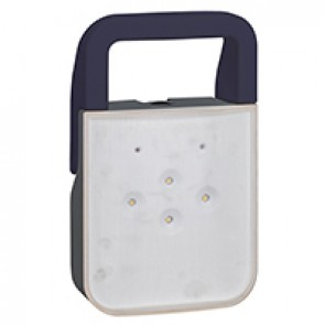Weatherproof LED portable safety lamp - specially designed for safety interventions in electrical rooms