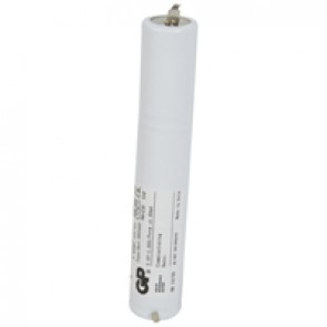Nickel Cadmium battery - for emergency lighting luminaires - 3.6 V - 1.5 Ah