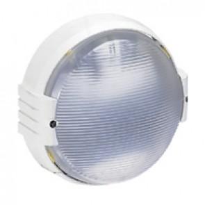 Bulkhead light Koro - vandal-resistant - IP55 - IK09 - 100 W- E27 - round