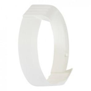 Cover plate Koro - for round bulkhead lights - clip-on - white