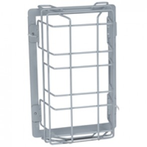 IK20 vandal resistant grid for IP43 and IP66 emergency lighting luminaires LED