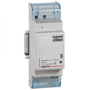 Scenario scheduler power supply - home system management BUS/SCS - 2 DIN modules