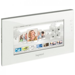 "10"" screen MyHOME BUS - with capacitive display - white"