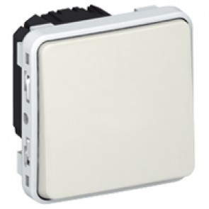 Switch Plexo IP55 - 2-way - 10 AX 250 V~ - modular - white