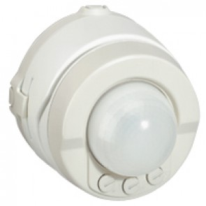 Movement detector Plexo IP55 - detection angle 360° - surface mounting - white