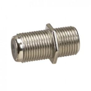 F connector female/female adaptor