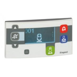 Door unit Mosaic-alphanumercial display-BUS/SCS-4 modules-Antimicrobial