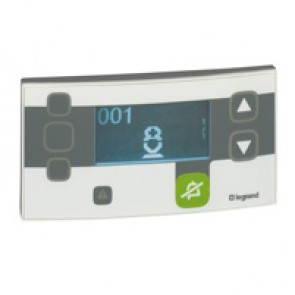 Main control unit Mosaic - for nurses' station - 4 modules - Antimicrobial