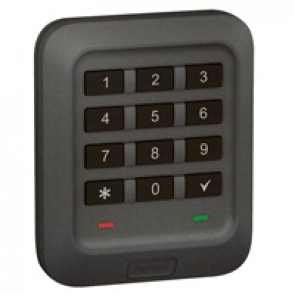 Outdoor backlit coded keypad Soliroc - flush-mounting - IK07 - IP65
