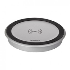 QI wireless power charger for integration into the furniture 5 W - IP44 IK08