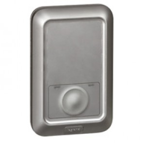 Outdoor stand-alone badge reader Soliroc - flush-mounting - IK10-IP55