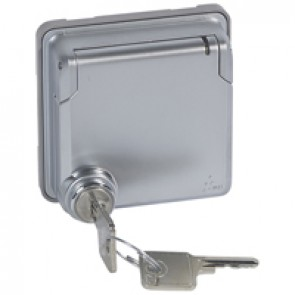 Adaptor Soliroc - for Arteor functions - IP55 - IK10 - lockable cover