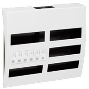 Table control unit - up to 6 display units Cat. No 0 766 60 - 36 modules