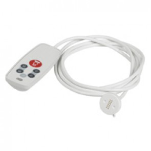 Hand-held BUS/SCS remote control unit for call and controlling lighting and roller shutters