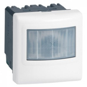 BUS/KNX motion sensor Mosaic - IP41 - 180° IR - range 8 m - white