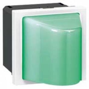 Bulkhead Mosaic - 12-24 V~/= - 0.6 W- 2 modules - Green