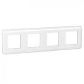 Plate Mosaic - 10 horizontal modules - white