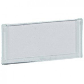 Label holder Mosaic - for self-adhesive labels - flat - transparent