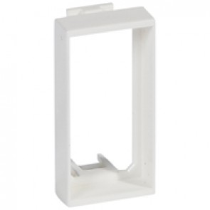 Adaptor for mounting on Mosaic 50 mm support - for 1 module mechanism