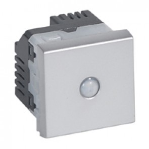 Energy saving switch Mosaic - 10 AX 250 V~ - alu