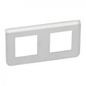 Plate Mosaic - 2 x 2 horizontal modules - alu