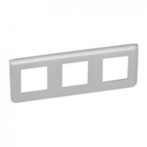 Plate Mosaic - 3 x 2 horizontal modules - alu