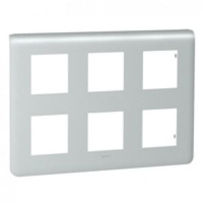 Plate Mosaic - 2 x 3 x 2 modules - alu