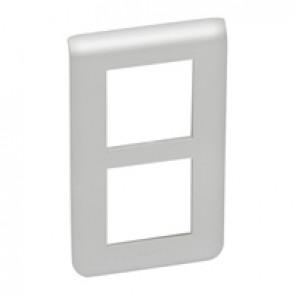 Plate Mosaic - special for refurbishment - 2 x 2 vertical modules - alu