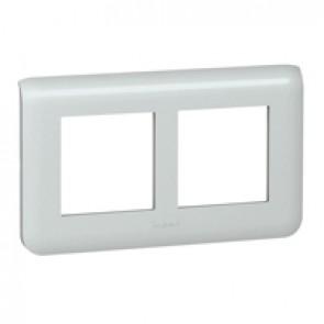 Plate Mosaic - special for refurbishment - 2 x 2 horizontal modules - alu