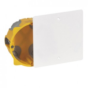 Junction flush mounting box EcoBatibox - 1 gang depth 40 mm - dry partitions
