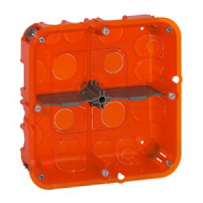 Flush mounting box Batibox - depth 50 mm - 142 x 142 mm - multi-material
