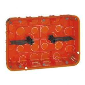 Flush mounting box Batibox - depth 50 mm - 213 x 142 mm - multi-material