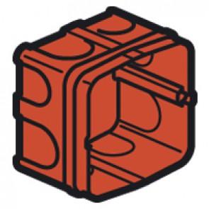 Flush mounting box Batibox - 1 gang for 20/32 A sockets depth 50 mm - masonry