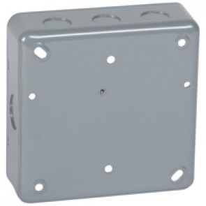 Flush mounting box - for Grid system - 2x2 gang - for 6/8 modules